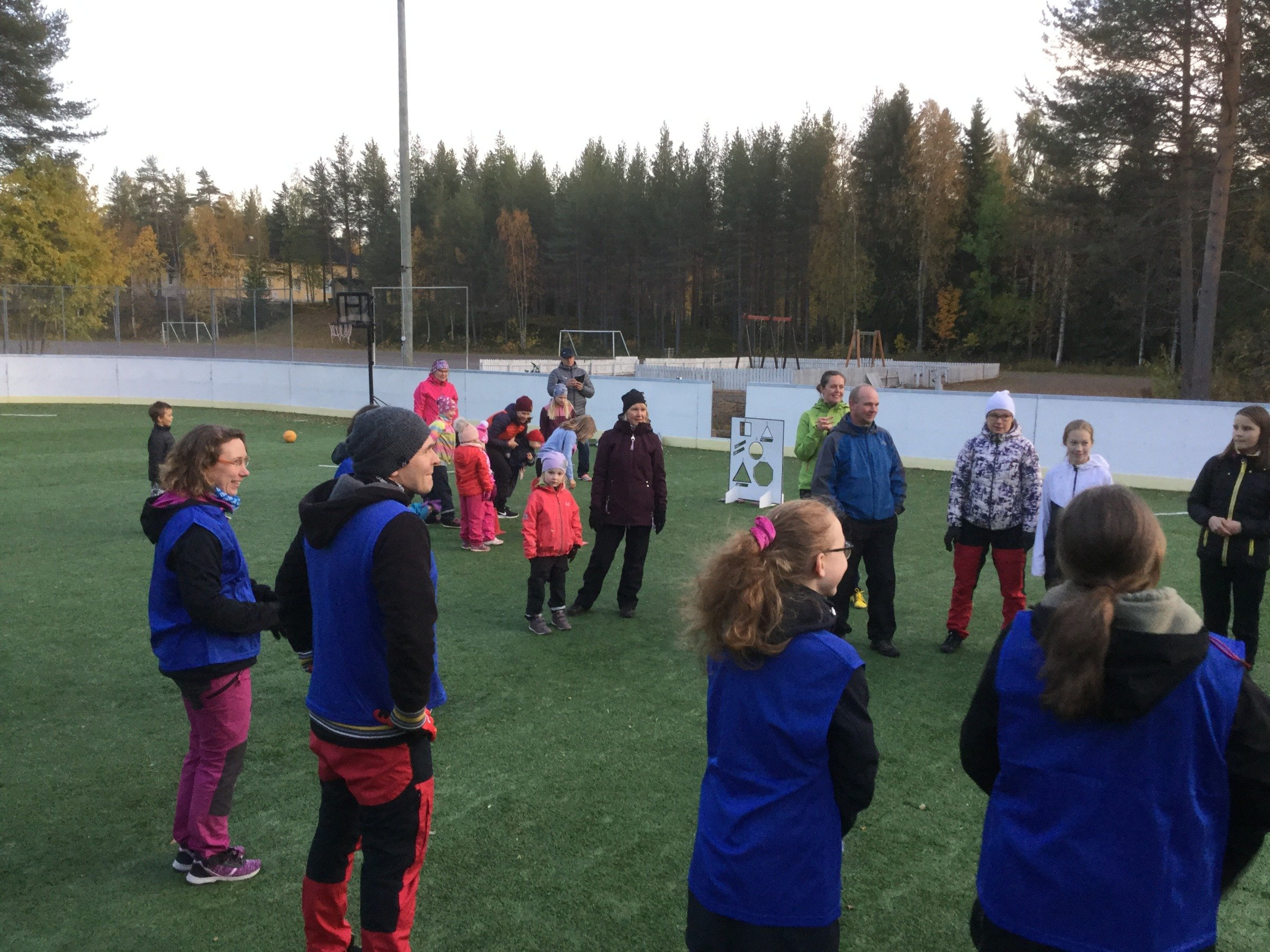 Nivankyläläisiä BeActive-tapahtumassa syyskuussa 2020 (c) Piia Juntunen-Laakso